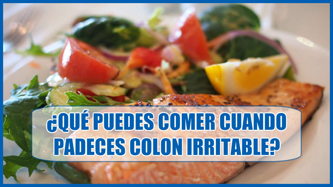 Colon irritable que puedes comer
