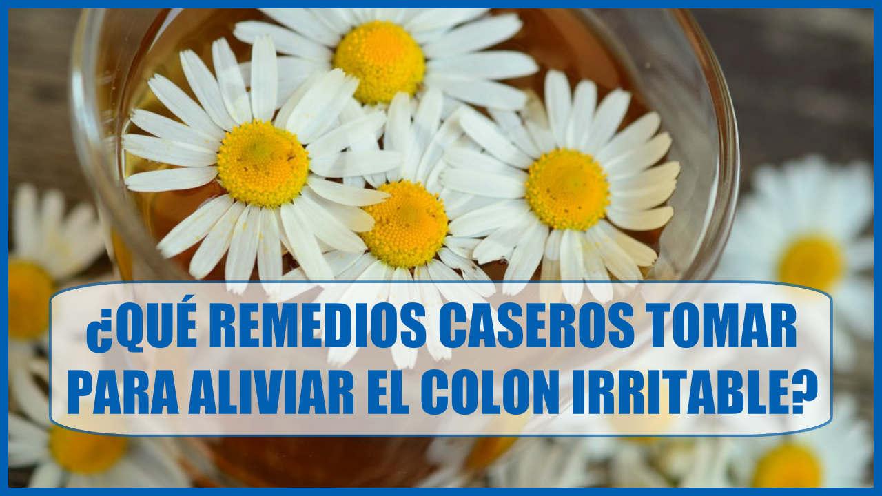 ¿Qué Remedios Caseros tomar para aliviar el Colon Irritable?