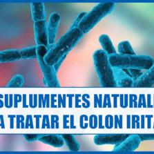 7 Suplementos naturales para tratar el Colon Irritable